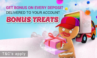 Bonus Treat on Every Deposit